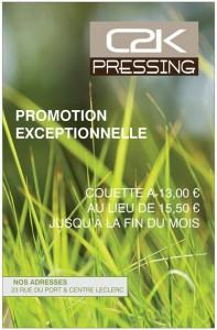 Promotions sur les Couettes sur le mois d'Octobre 2013