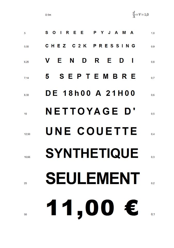 C2K-Pressing-Sud-Vendée-Fontenay-le-Comte-Pressing-blanchisserie-eco-responsable-soiree-pyjama-11€-la-couette-synthetique